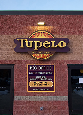 Tupelo Music Hall Entry